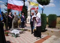 Odsłonięcie i poświęcenie pamiątkowego obelisku w Świebodzinie